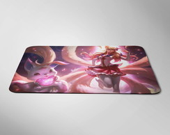Mousepad Gamer Ahri Guardiã League of Legends