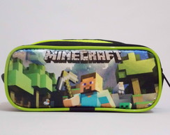 Estojo Minecraft