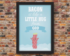 Pôster - Bacon Hug