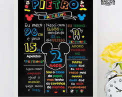 CHALKBOARD DIGITAL MICKEY