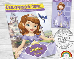 Kit Colorir Princesa Sofia