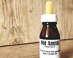 Óleo para barba artesanal Old Amish Spicy Cinnamon