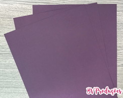 Papel Color Plus 180g (10 unidades) - Roxo