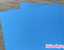 Papel Color Plus 180g (10 unidades) - Azul