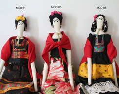 Boneca Frida - Elo7friday 20%off