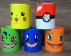 Kit de Canecas Pokemon