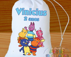 Backyardigans Saquinho Surpresa Personalize