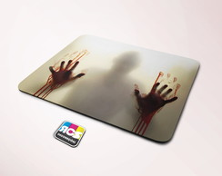 Mouse Pad The Walking Dead Zumbie M051 22x18