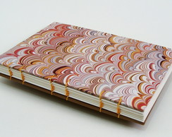 Caderno A5 Coquilles
