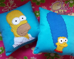 Kit Almofadas Homer e Marge