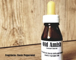Óleo para barba artesanal Old Amish Classic Peppermint