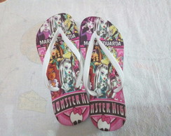 Chinelo Monster High Personalizado