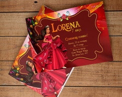Convite Digital Elena de Avalor