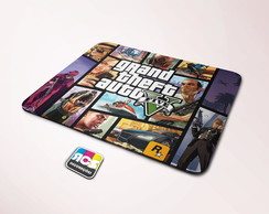 Mouse Pad Grand Theft Auto M058 22x18