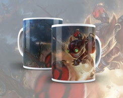 Presente - Caneca League of Legends