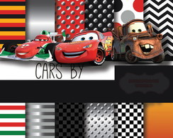 Kit Digital Scrapbook Carros 2