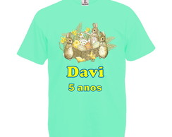 Camiseta Verde Claro Peter Rabbit