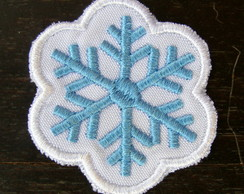 Floco de Neve Patch Termocolante