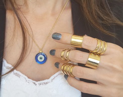 Multiple Rings It Girls Dourado