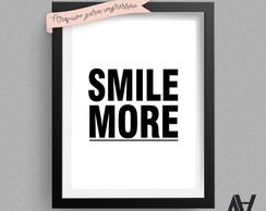 Poster Digital A3 - Smile More