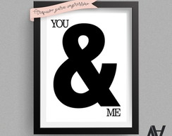 Poster Digital A3 - You & Me