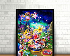 Quadro Mario Party