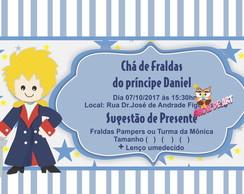 Convite Cha De Fralda Principe Elo7