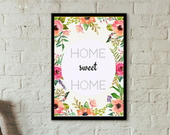 Poster Home Sweet Home para imprimir