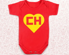 Body infantil Chapolin Colorado