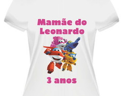 Kit Mamãe e Papai Super Wings