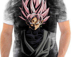 Camiseta Anime Dragon Ball Super Goku Black Full HD 01