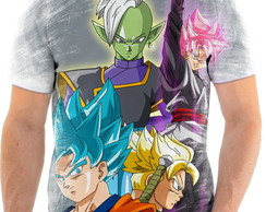 Camiseta Anime Dragon Ball Super Goku Black Full HD 09
