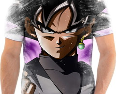 Camiseta Anime Dragon Ball Super Goku Black Full HD 14