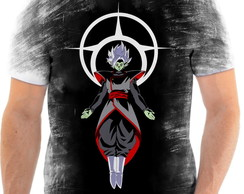Camiseta Anime Dragon Ball Super Goku Black Full HD 17