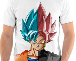 Camiseta Anime Dragon Ball Super Goku Black Full HD 18