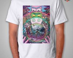 Camiseta Rick e Morty