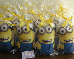 Almofada no formato do personagem minions