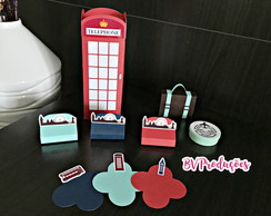 Kit Personalizados Londres: 80 itens