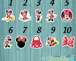 Aplique Minnie 3,5 cm