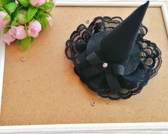 Mini chapeu de bruxa Halloween