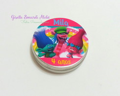 Latinha Mint to be personalizada Trolls