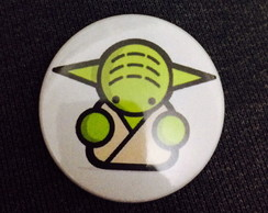 Botton Star Wars Yoda 2