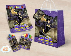 Kit para colorir batgirl batman
