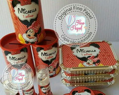 "kit Festa "" Minnie vermelha"""