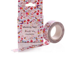 Washi Tape Unicornio COM CAIXA - W00511