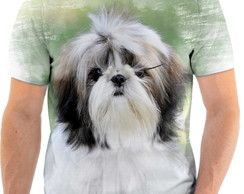 Camiseta Animal Cachorro Shih-tzu Fofo 3d Full HD 2