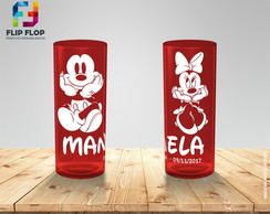 Copos Long Drink MICKEY e MINNIE
