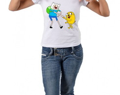 Camiseta do Finn e Jake