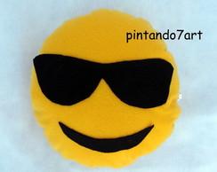 6c31037cf2689 ... Emoji oculos escuros - Almofada