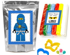 Kit Massinha de Modelar - Ninjago